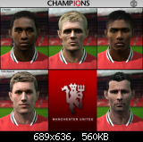 Manchester United facepack PES2011
