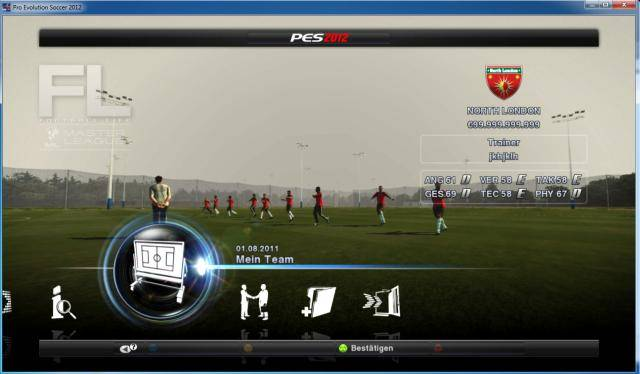 PES 2012 Money Master League