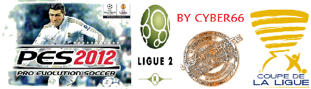 pes 2012 Patch Ligue 2 v1.1 By Cyber66