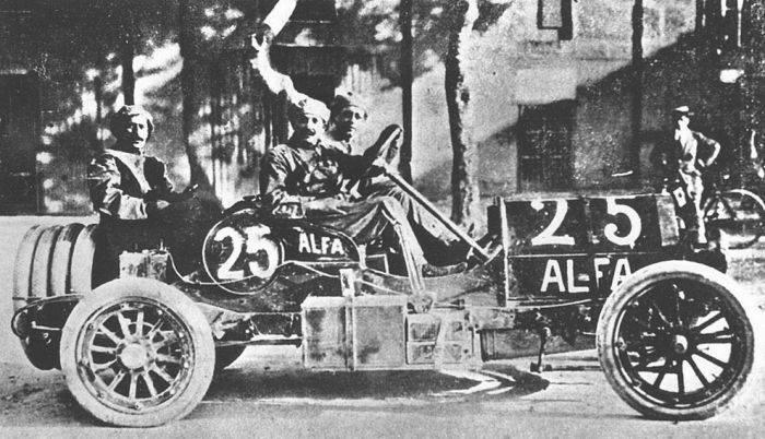 Pierwsze wyścigi samochodowe 19