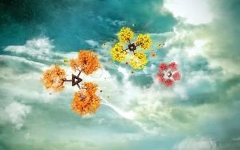 Скачать HD обои из категории Цветы и растения. картинка фантазии.