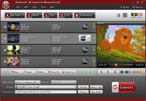 4Videosoft HD Converter 5.0.8