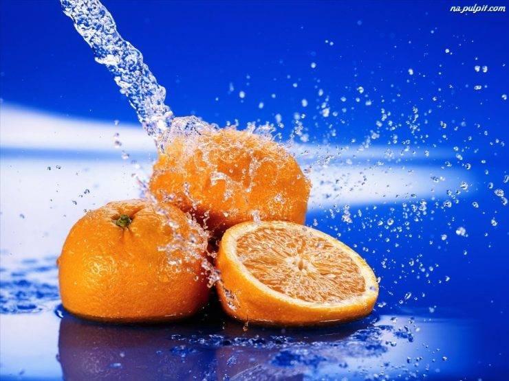 Owoce w wodzie :) 41