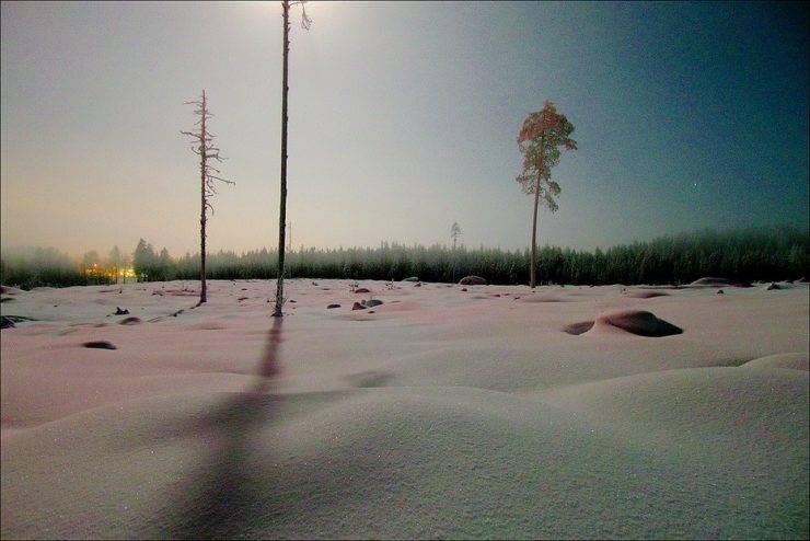 Zimowe krajobrazy 34