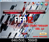 FIFA 12 LOD & Crowd Animation Tweaker Tool v1.0