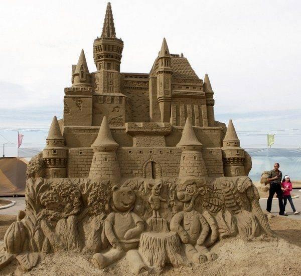 Rzeźby z piasku #3 3