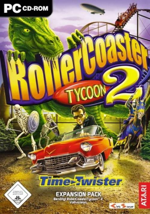 RollerCoaster Tycoon 2 + Oficjalne Dodatki  (2002/ENG/FULL/ISO)