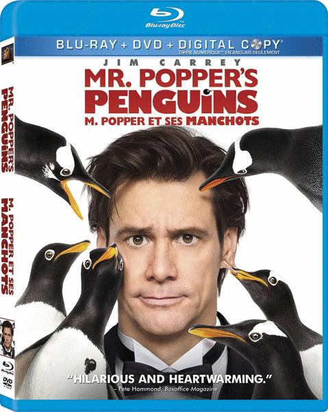 Пингвины мистера Поппера / Mr. Popper's Penguins (2011) BDRip