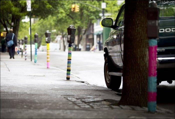 Street art: włóczka 23