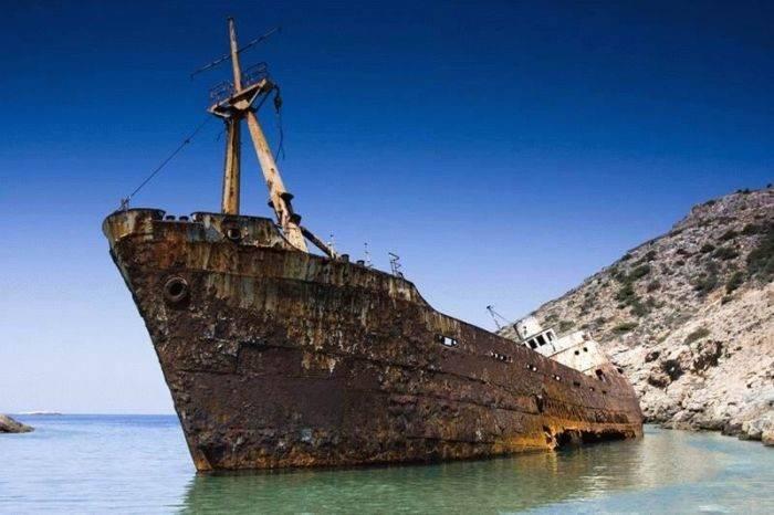 Zapomniane wraki statków 24