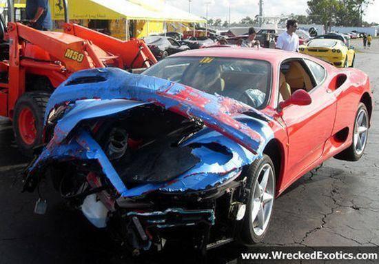 Najdroższe samochody skasowane w 2009 2