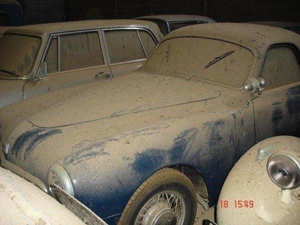 Zapomniana kolekcja samochodów 6