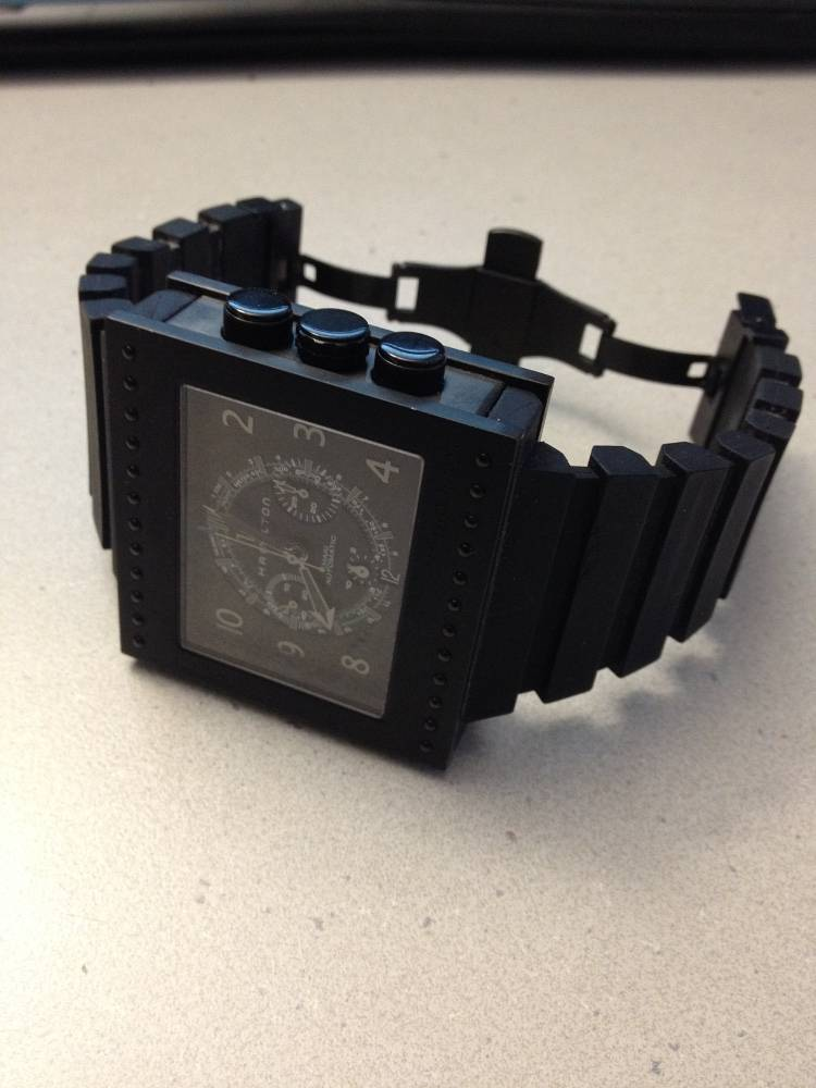 Hamilton code breaker chronograph h79686333 uhrforum for Boden direct code