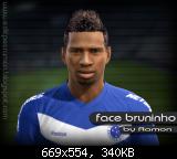 Bruninho Face - PES 2012 - by Ramon