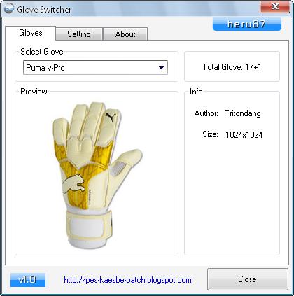 PES 2012 Glove Switcher 1.0 by heru87