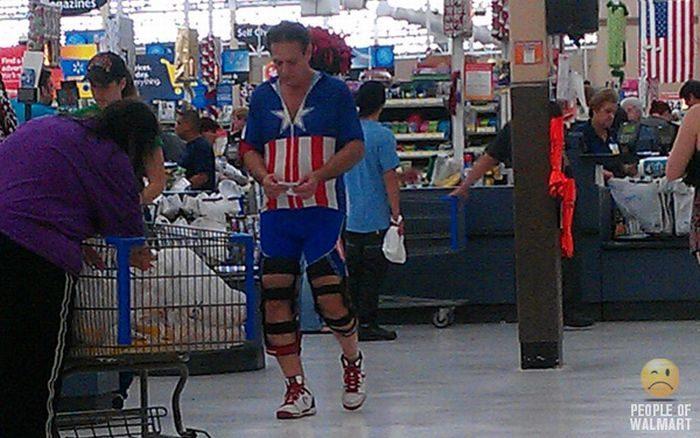 Najdziwniejsi klienci z WalMart #11 12