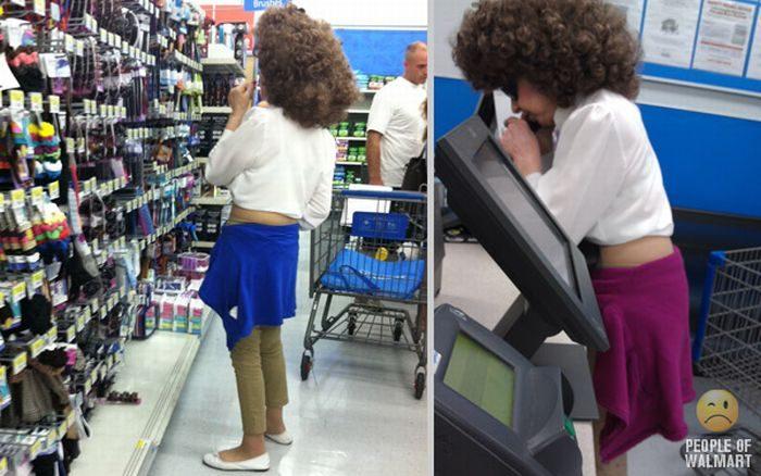 Najdziwniejsi klienci z WalMart #11 27