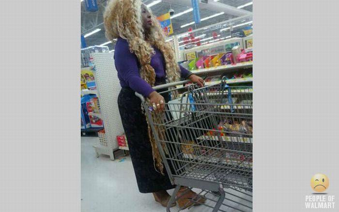 Najdziwniejsi klienci z WalMart #11 46