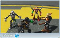 Лего: Фабрика героев. Планета дикарей / Lego Hero Factory: Savage Planet (2011) DVDRip