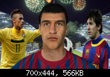 5sl5cvz4 FIFA 12 Alexis Sanchez Face (Barcelona) by (ALEX D K )