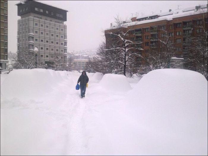 Śnieżna zima 14