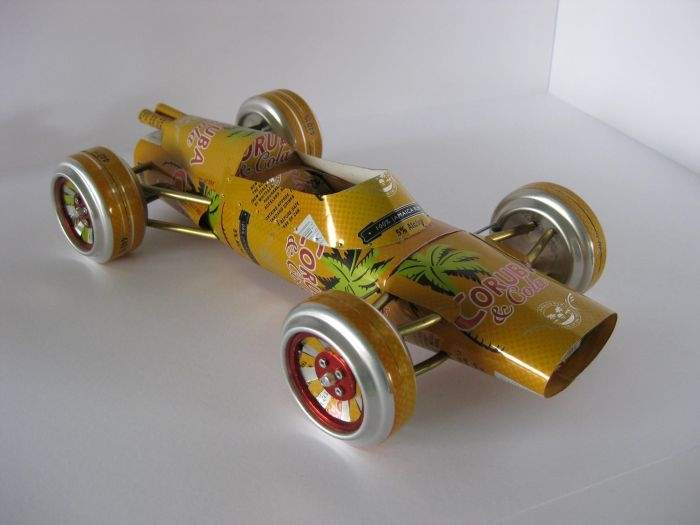 Modele samochodów z aluminiowych puszek 20