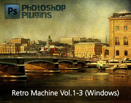 Retro Machine Vol.1-3 for Photoshop Plugins