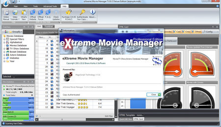 Extreme Movie Manager 7.2.2.1 Deluxe Edition