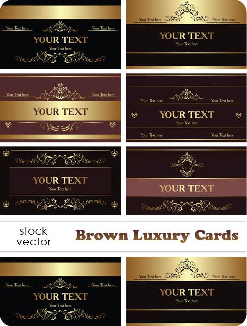 Vectors - Luksusowe wizytówki