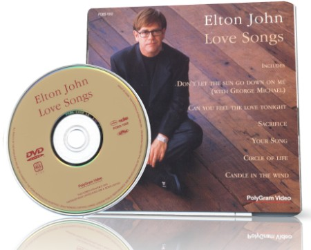 Elton John - Love Songs (1997) DVD9