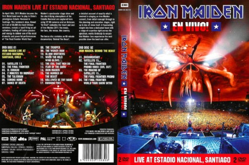 Iron Maiden - En Vivo! (2012) 2xDVD9