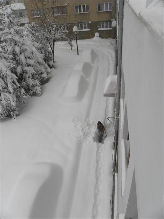 Śnieżna zima 7
