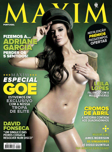 MAXIM Portugal - Abril (2012)