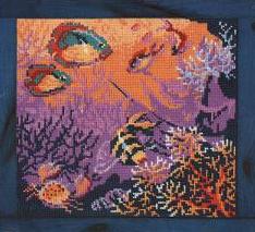 Схема вышивки рыбка риолис
