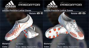 adidas LZ White Warning by Distribution