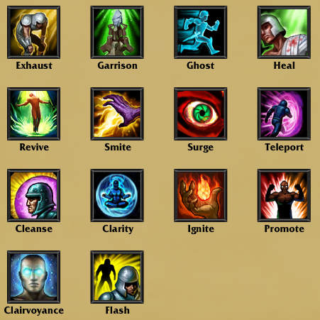 Summoner Spells