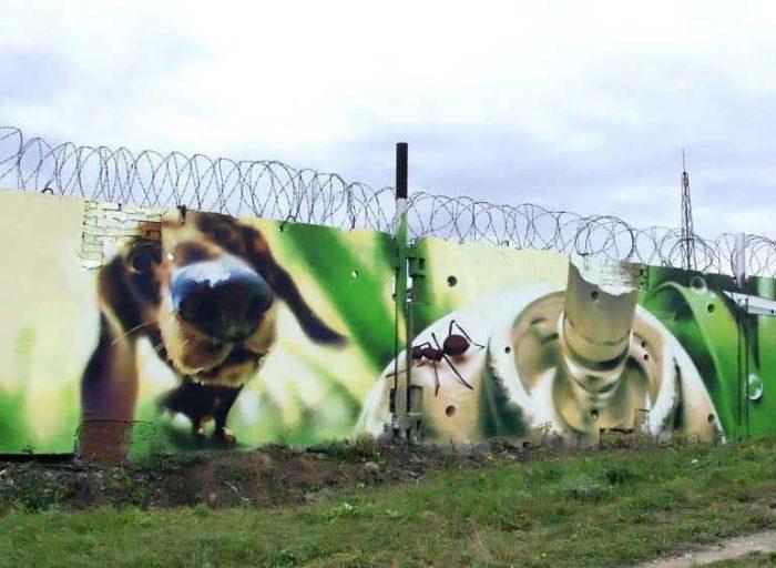 Rosyjskie graffiti 22