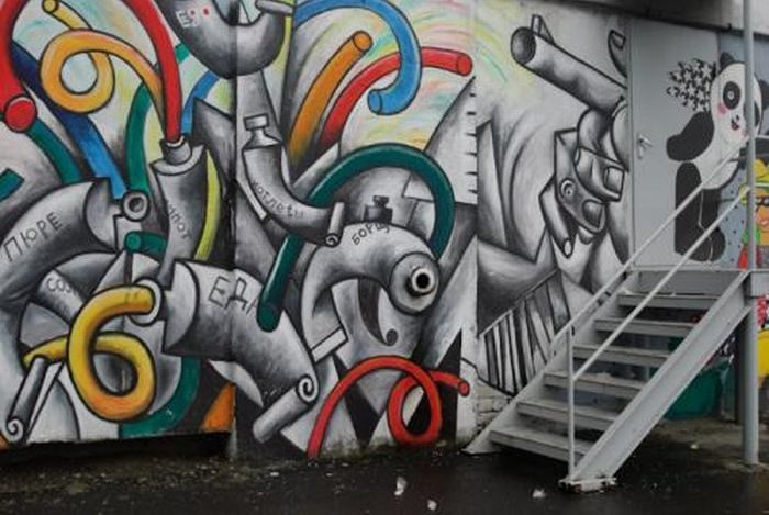 Rosyjskie graffiti 4