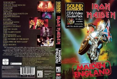Iron Maiden - Maiden England (1989) DVD9