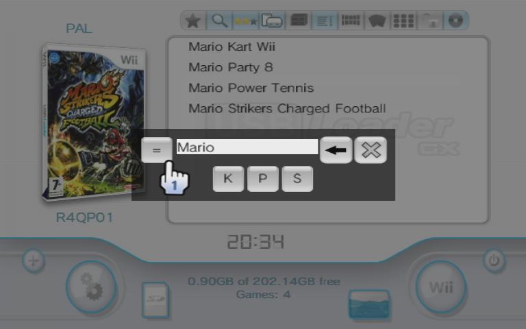 usbloader-gui - USB Loader GX: GUI for Waninkoko´s USB