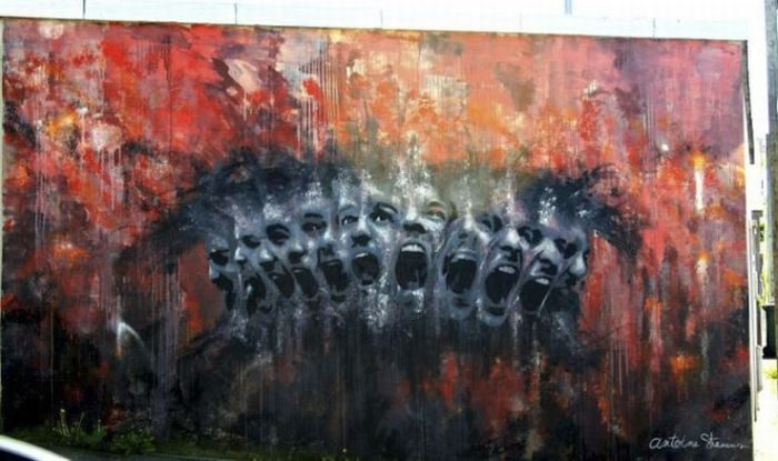 Najlepsze prace street artowców 26