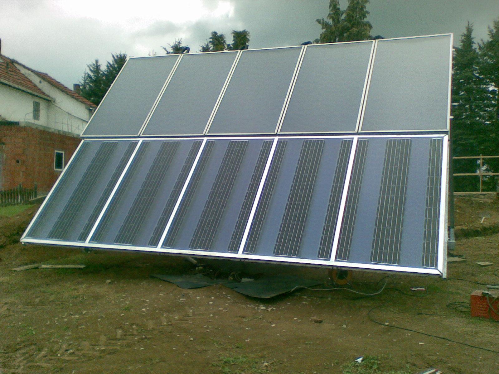 solarnutzung auf flachdach ohne aufst nderung. Black Bedroom Furniture Sets. Home Design Ideas
