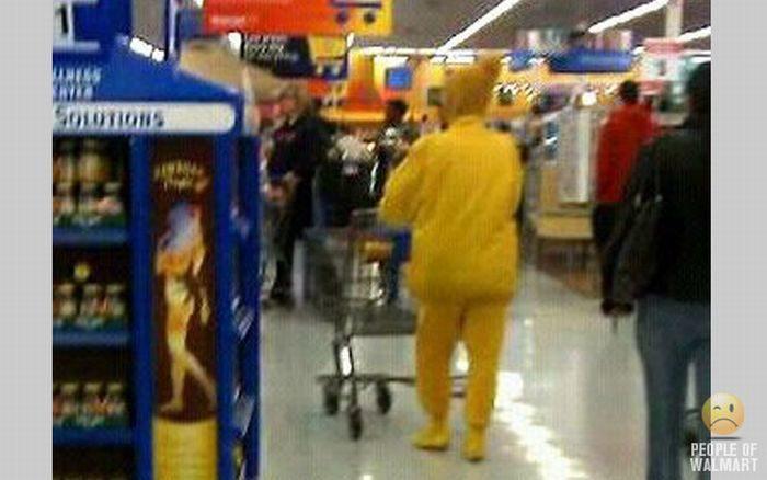 Najdziwniejsi klienci z WalMart #10 12