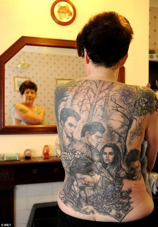 Tatuaże fanów sagi Zmierzch 8