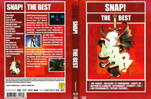 Snap - The Best 1990-2003 (2005) DVD9