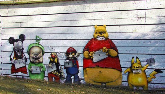 Najlepsze prace street artowców 5