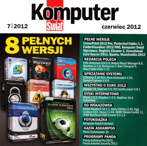 Komputer Świat 2012 - obrazy płyty