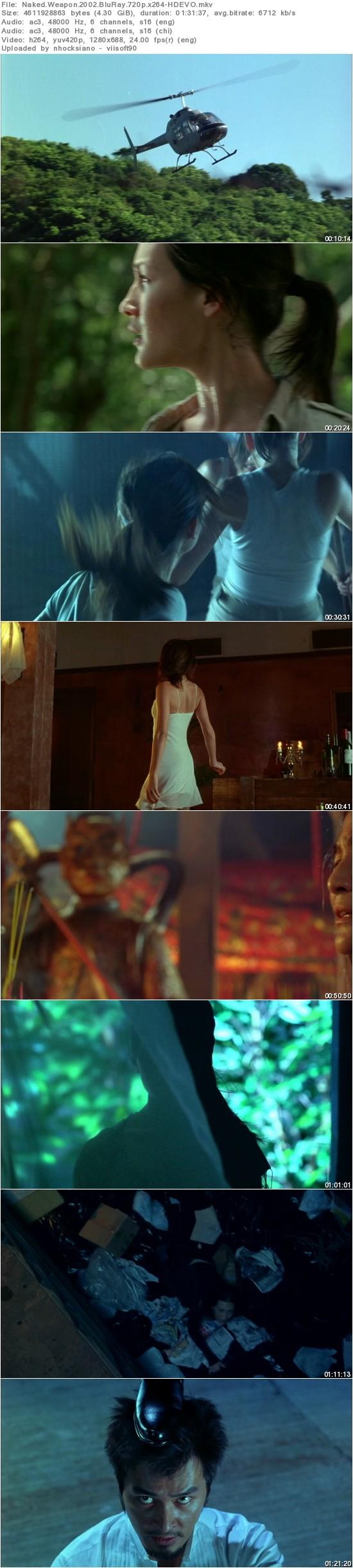 Naked Weapon (2002) BluRay 720p x264 AC3 - HDEVO
