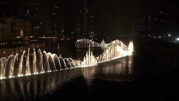 Dubai Fountain 9