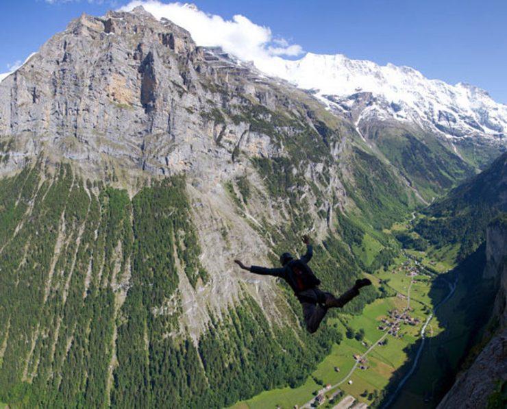 BASE jumping 13